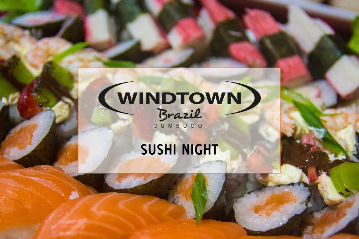 Sushi in restaurant | Windtown Cucumbo