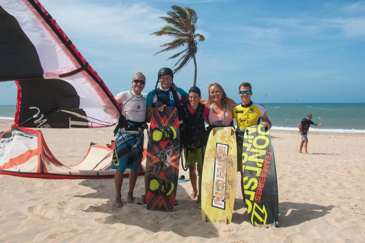Kitesurf on the beach | | Windtown Cucumbo
