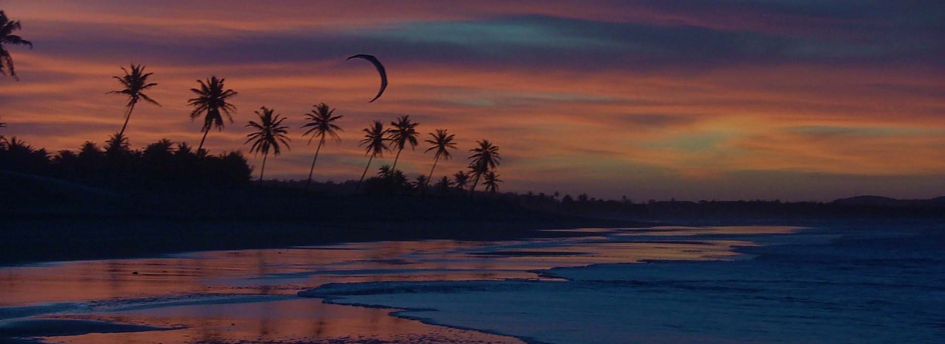 Beach by Night | Windtown Cucumbo Brazil