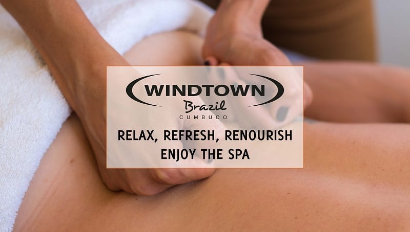 Relax in the spa   Windtown Cucumbo